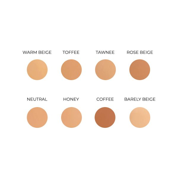 creme to powder foundation youngblood shades