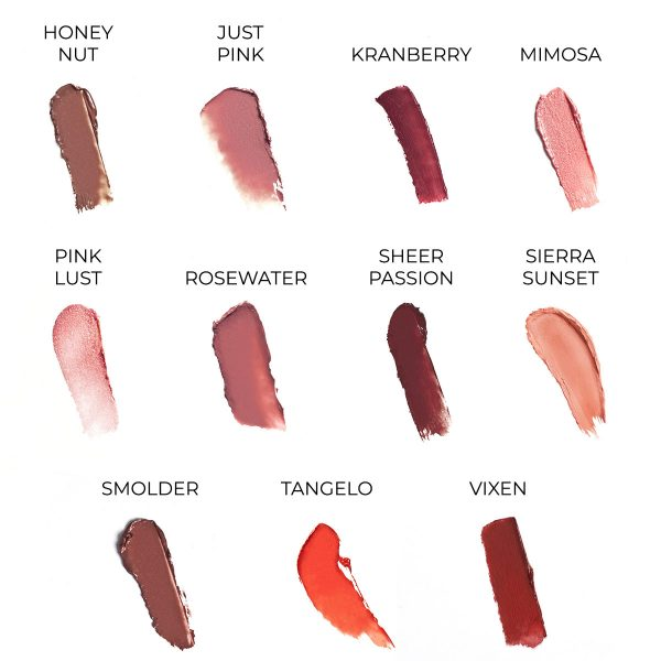 mineral creme lipstick youngblood shades2