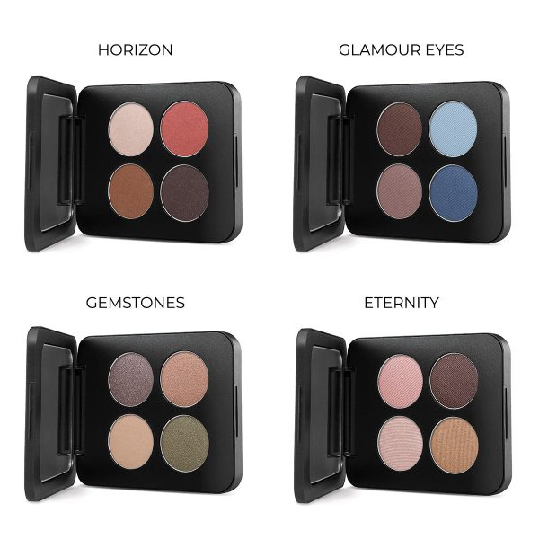 pressed mineral eyeshadow quad youngblood 3