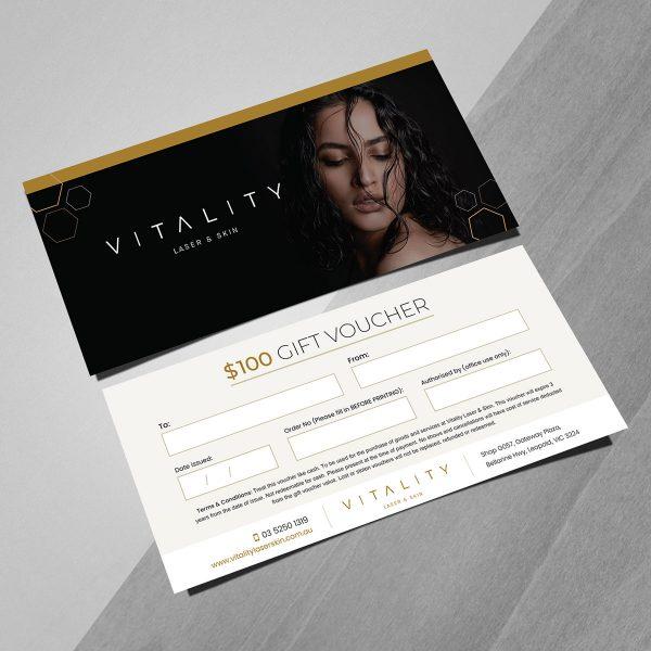 vitality 100 gift vouchers