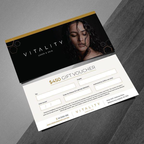 vitality 450 gift vouchers