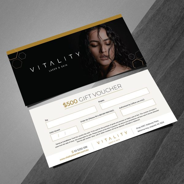 vitality 500 gift vouchers