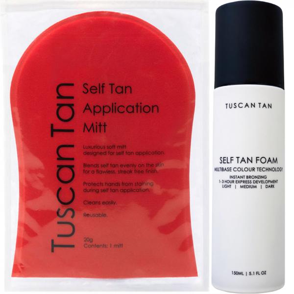 Tuscan Tan Self Tan Foam FREE Tan Application Mitt 2048x2048