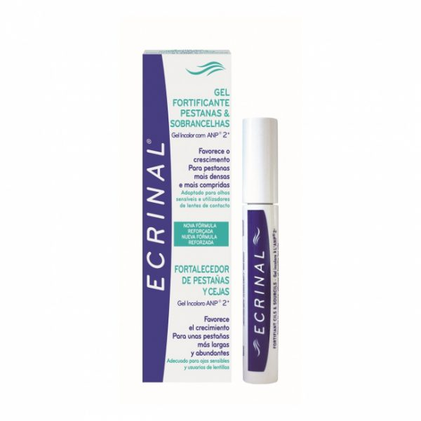 ecrinal strenghting gel for eyelashes and eyebrows 8ml