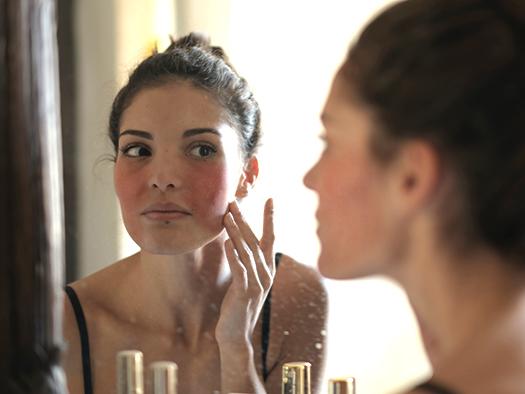 vitality skin concern diffuse redness