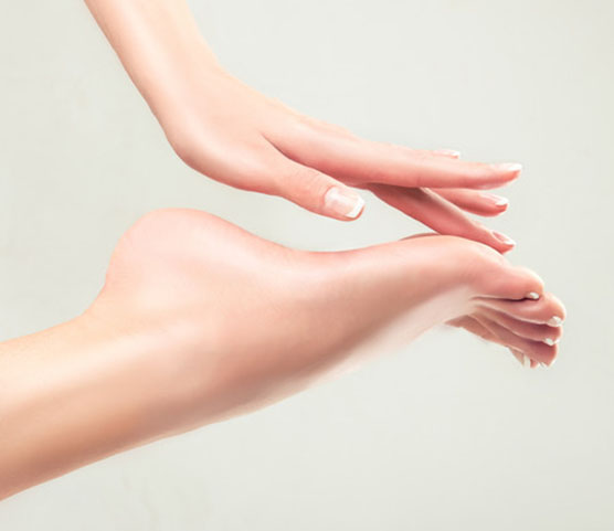 vitality laser skin hands and feet